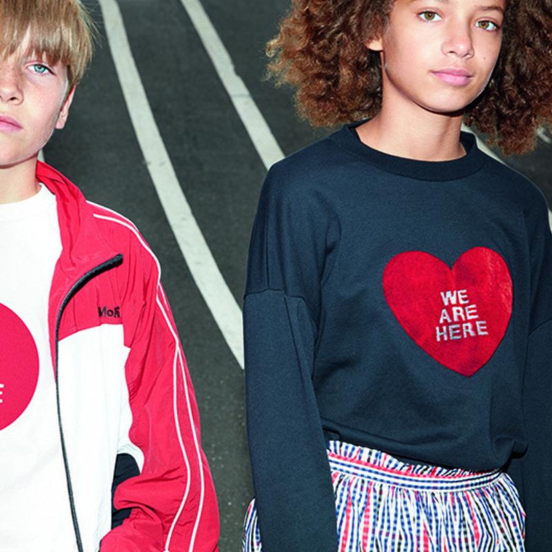 sweatshirt menina preta coração Planta Kids 2