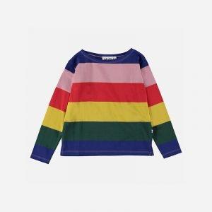 t-shirt manga comprida menina multicor rainbow Planta Kids 1