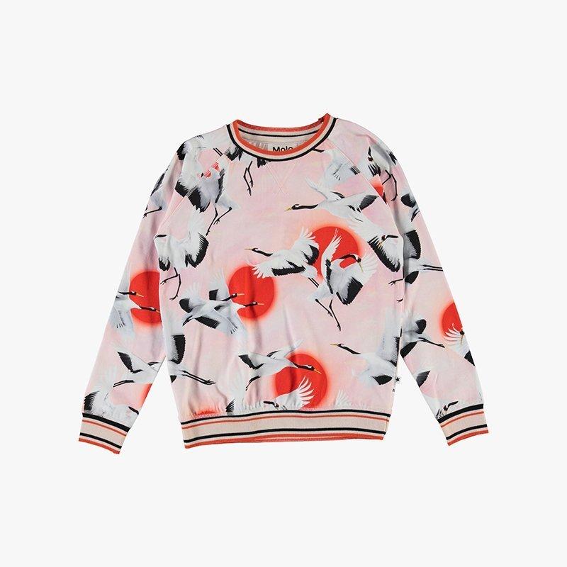 top blusa manga comprida menina rosa algodão orgânico Planta Kids 1
