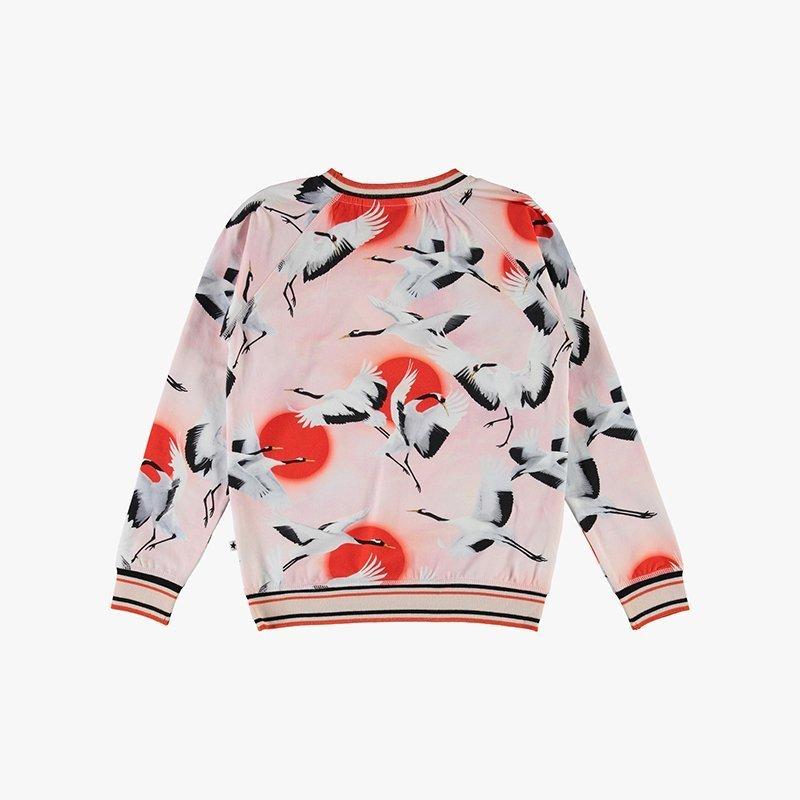 top blusa manga comprida menina rosa algodão orgânico Planta Kids 2