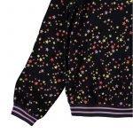 top blusa manga comprida menina preta estrelas Planta Kids 3