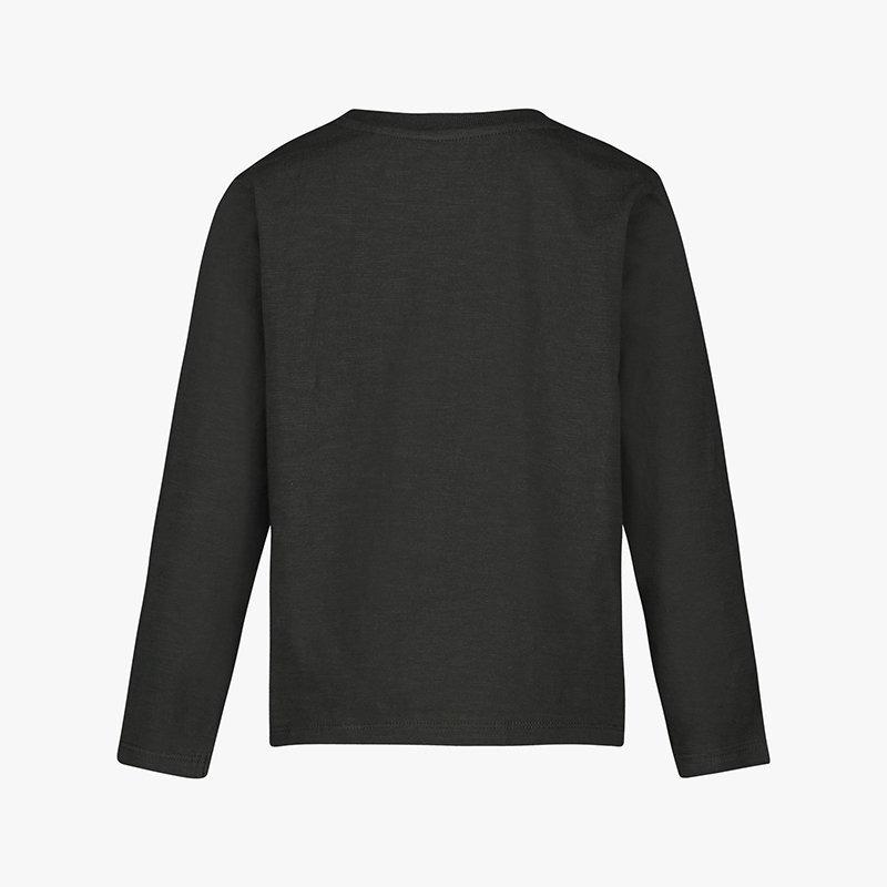 t-shirt manga comprida menino cinzenta algodão orgânico Planta Kids 3