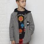 camisa manga comprida menino flanela xadrez Planta Kids 1