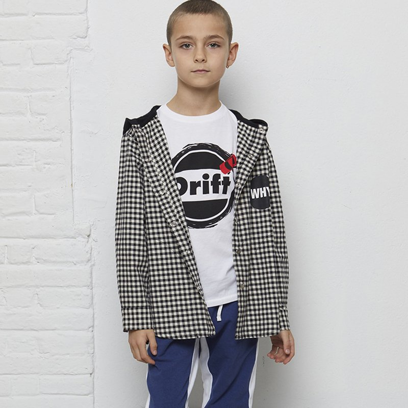 camisa manga comprida menino flanela xadrez Planta Kids 4