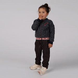 jaqueta menina preta algodão responsável Planta Kids 1